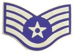 US Air Force E-5 Staff Sergeant Lapel Pin