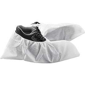 SIM Imports Skid Resistant Disposable Shoe Covers, Size 6-11, White, 150 Pairs/Case