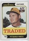 - Ed Kirkpatrick (Baseball Card) 2016 Topps - 65th Anniversary Buybacks - Limited Red #1974-262T
