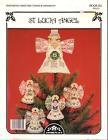 St. Lucia Angel Perforated Paper Tree Topper & Ornaments
