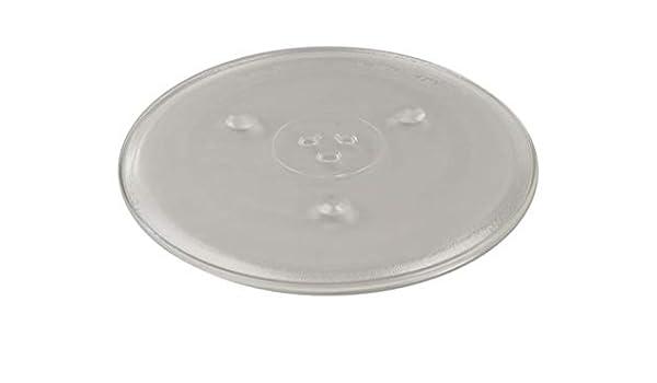 Plato Cristal Giratorio para Microondas Fi.=315mm: Amazon.es: Hogar