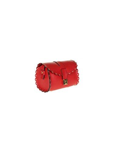 Furla Mujer BJH4FLEPEE Rojo Cuero Bolso De Hombro