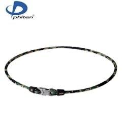 - Phiten Digital Camo Titanium Necklace, Woodland, 22-Inch