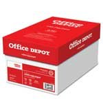 Office Depot(R) Brand White Copy Paper, 20 Lb., 104 Brightness, 8 1/2in. x 11in., Case Of 10 Reams (Office Depot Copy Paper)