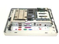 HP 591691-001 Head unit - Includes plastics, cables, screws, and system board with Intel Celeron processor - Does NOT include the hard drive, memory, or Magnetic strip reader (MSR) by HP