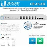 Model:US-16-XG UniFiSwitch 16 XG 10G 16-Port Managed Aggregation Switch The US-16-XG completes your UniFi ecosystem, with centralized aggregation totaling 320 Gbps.Build and expand your network UniFi Switch 16 XG, part of the UniFi Enterpri...