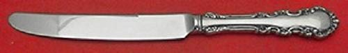 Georgian Rose By Reed and Barton Sterling Dinner Knife French Wide Handle 9 5/8