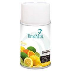 Metered Fragrance Dispenser Refill, Citrus, 6.6oz, Aerosol, Sold as 1 Carton, 12 Each per Carton (Metered Aerosol Spray)