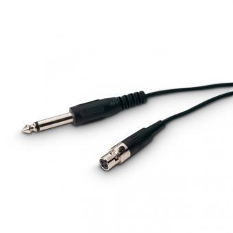 Gitarrenkabel 0,9m, 3 Pol Mini-XLR / 6,3mm Klinke für WS100BP ...