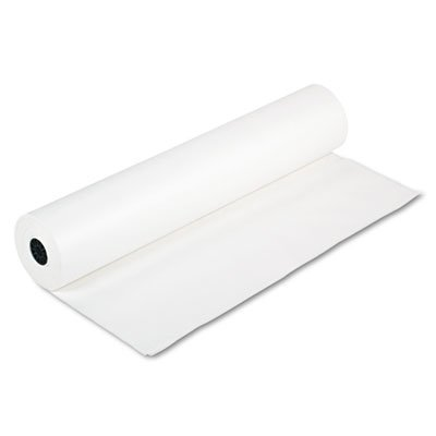 Rainbow Duo-Finish Colored Kraft Paper, 35 lbs., 36'''' x 1000 ft, White, Sold as 1 Roll by PACON