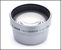 - Canon TL-H37 37mm 1.5x Telephoto Converter Lens for HR10, HF10, HV10, HF100 Camcorders