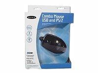 - Belkin 3 Button Scroll Mouse PS2/USB Black W98/2000/ME/NT/XP (F8E812-BLK)