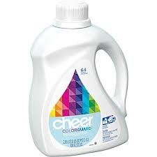 Cheer Color Guard Free & Gentle 64 Loads, 100 Oz (Pack of 2)