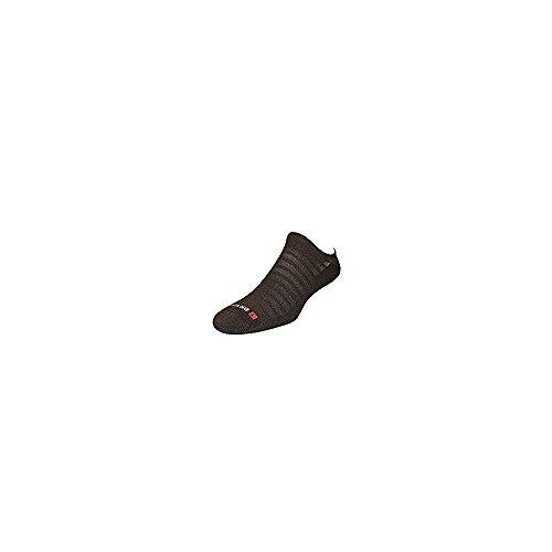 DryMax Run Hyper Thin No Show, Black, W7.5-9.5 / M6-8, 2 Pack by Drymax (Image #1)