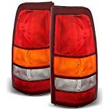 Gmc 3500 Tail 1500 2500 - ACANII - For 1999-2002 Chevy Silverado 1999-2006 GMC Sierra Replacement Tail Lights Lamps Set