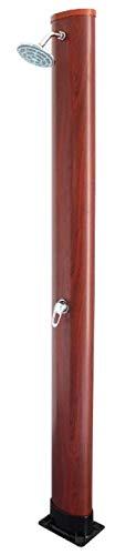 Gre Douche Solaire PVC Aspect Bois 35 L AR1035W