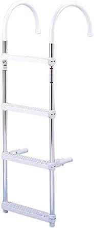 DotLine 4 Step Gunwale Hook Aluminum Ladder
