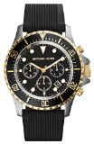 Michael Kors Everest Chronograph Black Dial Black Silicone Mens Watch MK8366 by Michael Kors