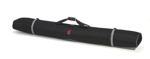 Athalon Single Padded Ski Bag (Black, 180cm) (Black Ski Bag)