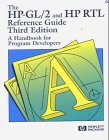The HP-GL-2 and HP RTI Reference Guide : A Handbook for Program Developers, Hewlett-Packard Company Staff, 0201633256