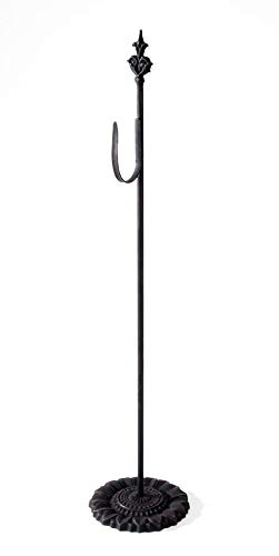Metal Wreath Hanger, 24-Inch, Black (6556-71) ()