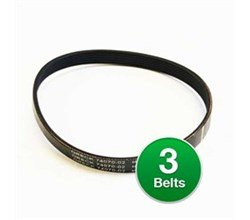 Genuine Vacuum Belt for: Oreck 74070-02 / 7407002 (3-Pack)