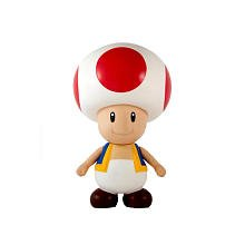 Popco Super Mario Brothers 9 Inch Series 2 Classic Super Size Vinyl Figure Collection Toad