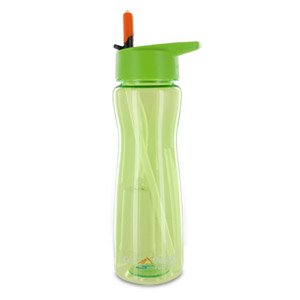 Price comparison product image The Best Aqua Vessel Ultra Lite Tritan 25oz Filtration Bottle - 100 Gallon Filter, Green-TRIAV750CG - It's never been easier to enjoy clean, filtered water just about anywhere than with the Aqua Vessel Ultra Lite Tritan Filtration Bottle. This plastic, BPA-free bottle features a 25 oz. capacity and is ideal for camping, hiking, sports, and more! Plus, the water bottle comes with an internal filter that filters out 99.9% of Giardia and Cryptosporidium from your water, while a