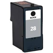 Ink Now Premium Compatible Lexmark Black Ink Jet 18C1428, 18C1528, 28 for X2500, X2530, X2550, X5070, X5075, X5320, X5340, X5410, X5495, Z1300, Z1310, Z1320, Z845 printers yld