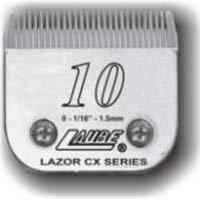 Kim Laube #10 Lazor CX Steel Clipper Blade