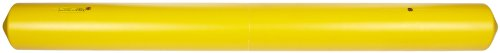 Eagle 1781 Polyethylene Clearance Bar with Eye Bolts, Yellow, 77