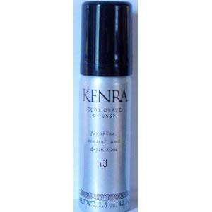 Kenra Curl Glaze Mousse 13 For Shine, Control Definition 1.5oz (42.5g) Travel Sized (Kenra Volume Mousse)