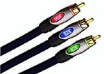 Monster ULT V1000 CV-8 Ultra 1000 Component Video Cables (8 feet) (Discontinued by Manufacturer)