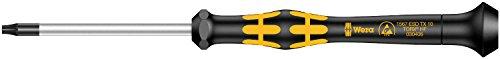 Wera 05030406001 TX10x60mm Kraftform 1567 Micro Torx Driver with Holding Function