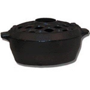 John Wright Company Steamer - 3 Qt Black Matte-Lattice