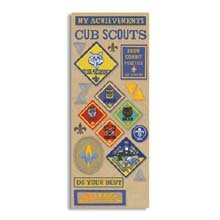 K&Company Cub Scout Images Embossed Stickers