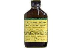Апитерапия Мед Дикие вишневым сиропом из меда Gardens 4 унции жидкости