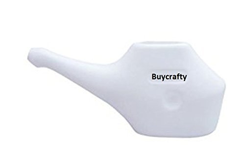Nexxa 1pc Ergonomically Designed Traveller's Neti Pot for Nasal Cleansing, Little teapots with Long spouts,Economy, Light-Weight Neti Pot | Handy, Compact & Travel Friendly (Travel Nasal Cleansing Pot)