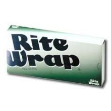 Dixie Medium-Weight White Interfolded Rite Wrap - 12 x 10.75 inch, 500 sheets per pack -- 12 packs per case.