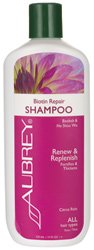 Biotin Repair Shampoo Aubrey Organics 11 fl oz Liquid -