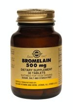 Bromelain - Natural emulsifying agent and digestive enzyme, 30 Tabs,(Solgar)