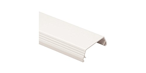 T-45 Non-Metallic Multi-Channel 2-Piece Hinged Cover Surface Raceway Cover, Office-White