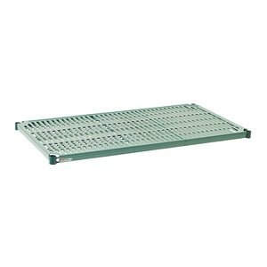 Metro PR1830NK3 Super Erecta Pro Metroseal 3, Epoxy Coated Polymer, Standard Open Grid Shelf with Removable Mat, 800 lb. Capacity, 1