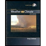 Exercises for Weather and Climate, Carbone, Greg, 0131015117