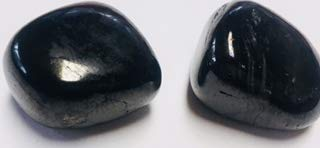 - Stones: Jet ~ Absorbs Negitive Energy ~ Increases Psychic Awareness ~ Two Ravenz Roost Stone with Pouch and Info Card on Crystal Clearing