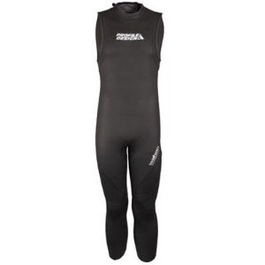 Profile Design 2014 Women's Wahoo Sleeveless Wetsuit - CLWS3104 (Black - - Profile Wetsuit Design