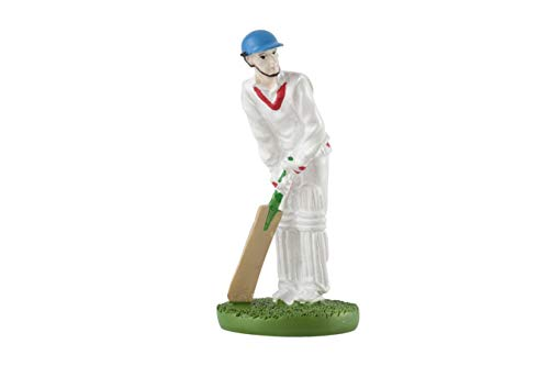 Cricketer Cake Decoration - Resin
