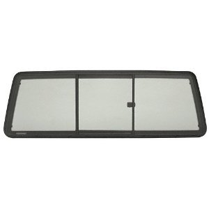 ETRV965S - CRL Tri-Vent Three Panel Slider with Solar Glass for 1998+ Mazda and Ranger Cabs