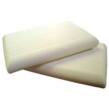 Contour Memory Foam Pillow by SnoozeWise. Firm Yet Supportive. Relieve Your Pillow Neck Pain! Extra Allergy Pillow Case, Soft Eye Shades and Foam Earplugs. Size 22.4x14.4 inches with 2 Neck Heights.