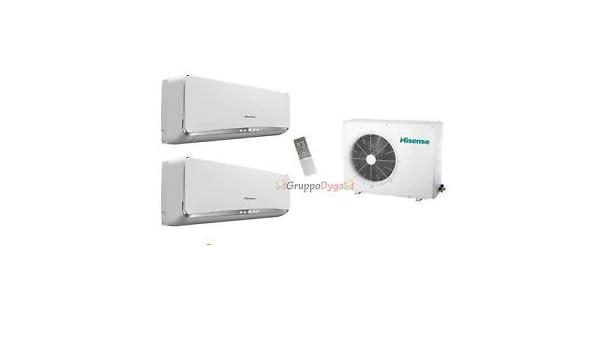 Climatizador Dual Hisense Essence Inverter 9000 12000 Amw 2-16U4Sgd1 ...